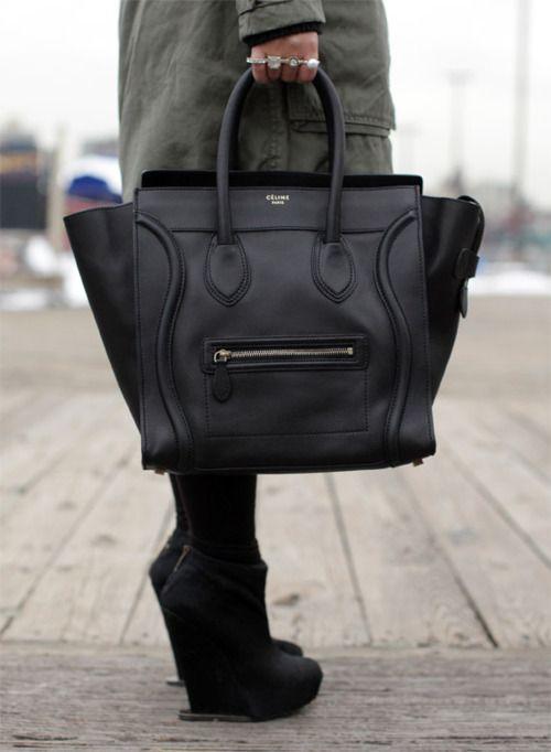 celine bag - classic minimalism