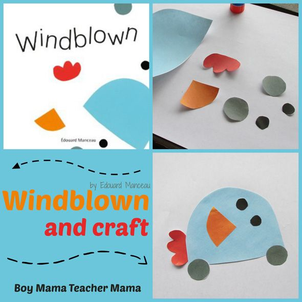 Windblown by Edouard Manceau: You'll love this book...and that it lends itself to such fun creativity!