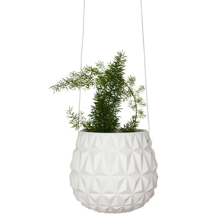 Hanging Planter Triangle Pattern