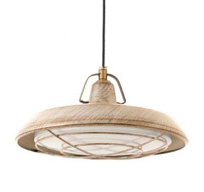 Lámpara de techo para jardín con LED #jardin #iluminacion #lamparas