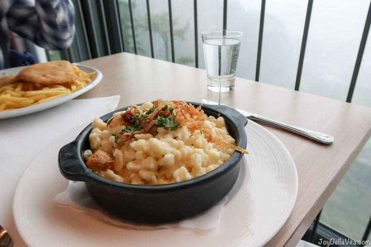 Lunch at Karren Panorama Restaurant in Dornbirn / Vorarlberg - Joy della Vita - Travelblog by Lisa Schwarz