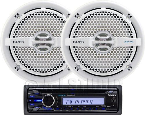 Sony CXSM2016 Marine Package by Sony. $189.99. Enjoy your MP3/WMA files on CD or MP3 player with the SonyCDX-M20 Marine receiver. Plug in your iPod or Walkman player to the front aux input or connect easily to SiriusXM1 satellite radio to stream your favorite channels on the go. Plus experience great sound quality from the built-in equalizer and powerful 52x4 high power amplifier.
