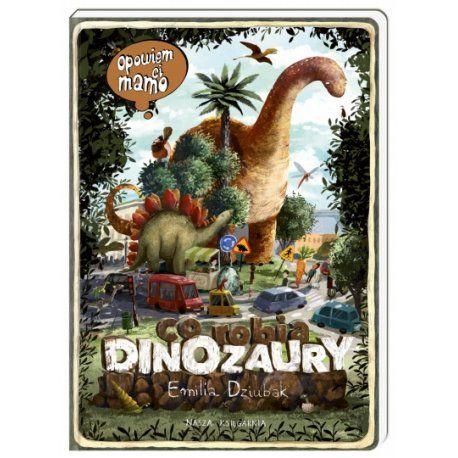 Witajcie w poniedziałek:)  Będziemy uczyć spostrzegawczości i umiejętności opowiadania z olbrzymim Riochazaurem, Trematozaurem, który zgubił jajo, roślinożernym Diplodokiem żyjącym w wodzie Plejozaurem, latającym Archaeopteryxy i wieloma innymi.  Opowiem ci mamo co robią dinozaury to idealna książka dla dzieci w wieku od 2 do 6 lat.    Bohaterowie książki trafią do krainy dinozaurów i poznają te niezwykłe zwierzęta.  A podobno wyginęły :) ...