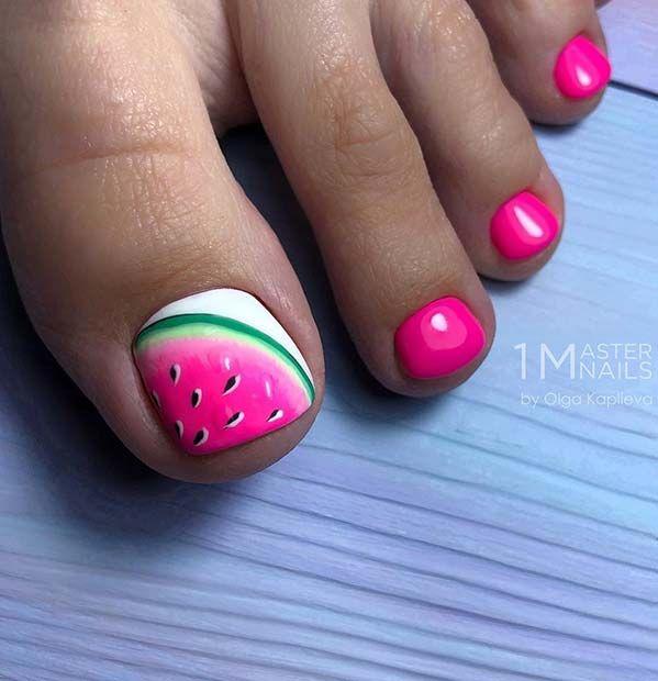 51 schattige teen nagel ontwerpen voor deze zomer