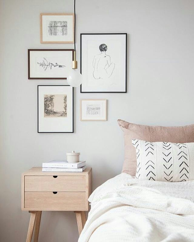 Repost from @holly_avenuelifestyle  Our small oak dresser featured as a bedside table.  What a gorgeous setup of colours and style... Happy Friday!  #avenuelifestylestudio #bedroom #bedside #hubschinterior