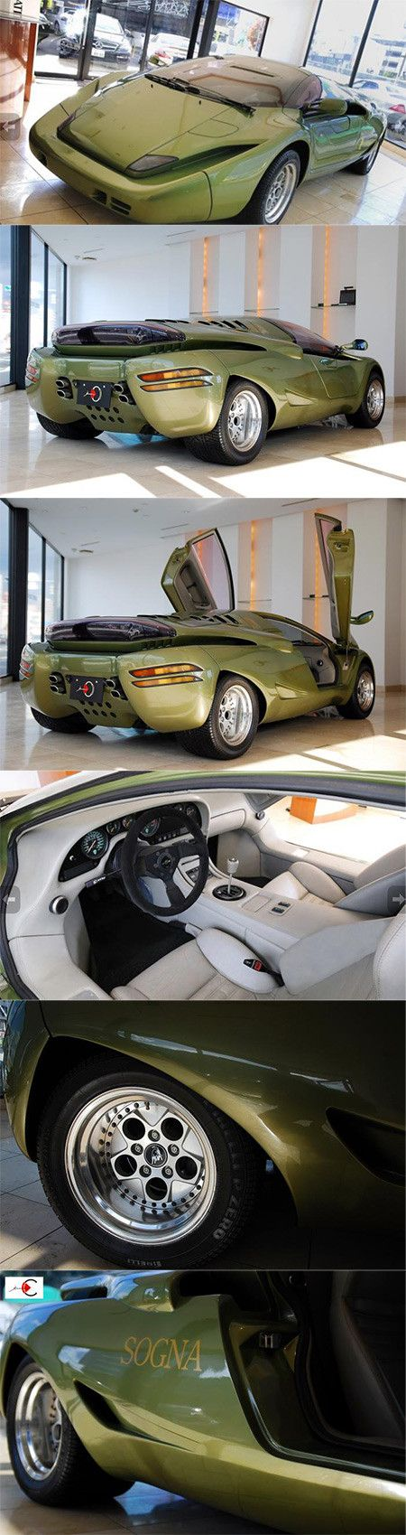 Ultra Rare Lamborghini Sogna Looks Like a Space Ship.  Ready to spend $3.27 million for it? (J Train)