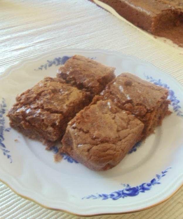Tahinli Çikolatalı Browni                        -  Nesrin  Kismar #yemekmutfak