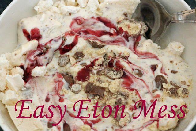 'Eton Mess' Style Dessert | recipes to try | Pinterest | Eton Mess ...