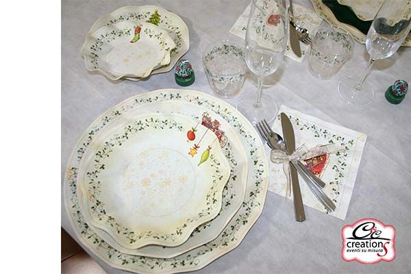 Coordinato tavola usa e getta decoration piatti for Piatti e bicchieri per feste bambini