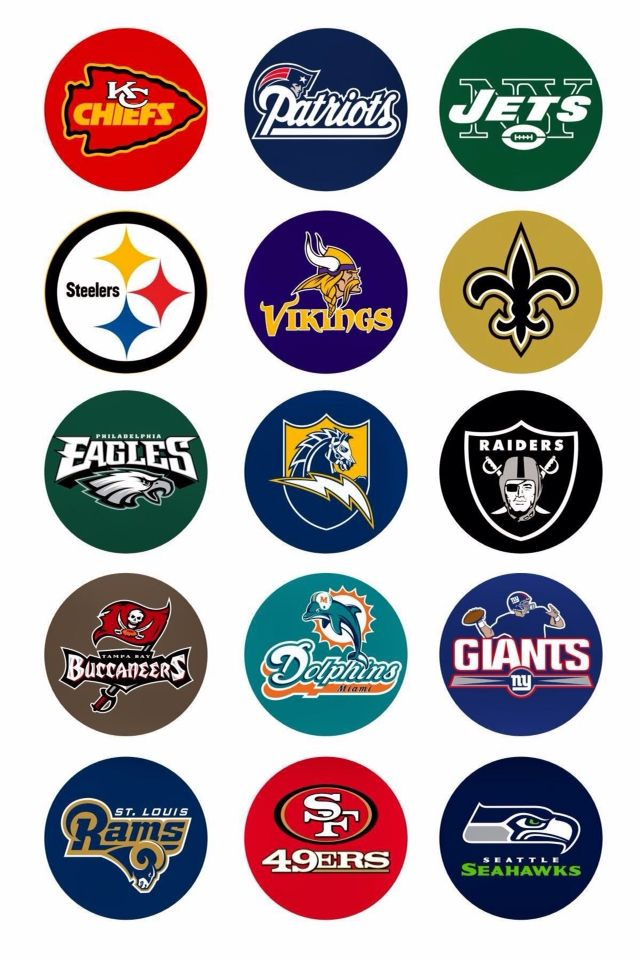 NFL bottle cap images