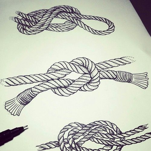 and more posts black n white knot tattoo knots black tattoos and body ...
