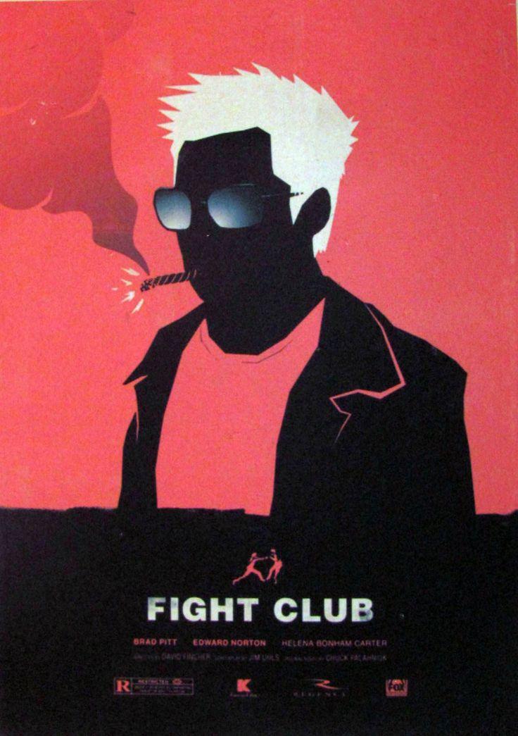 Постер к фильму Бойцовский клуб 4 :: Интернет-магазин дизайнерских постеров