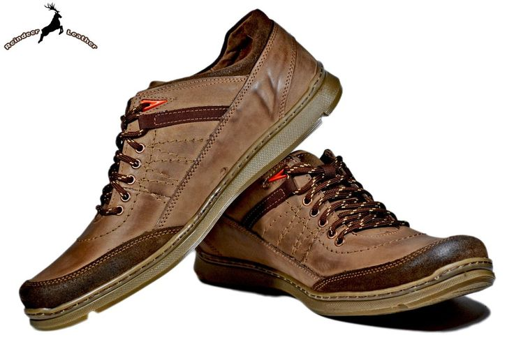 Gino Explorer Leather Sneakers