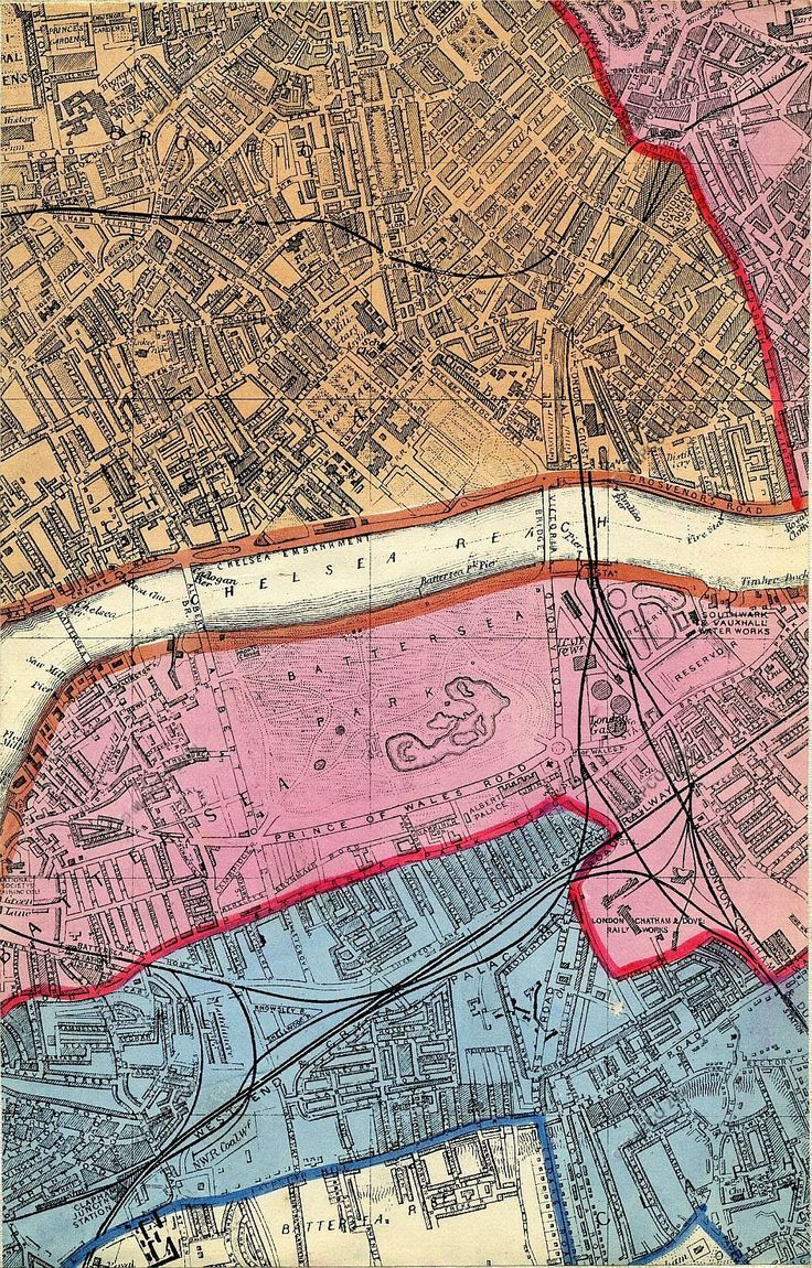 High definition online map of Victorian London