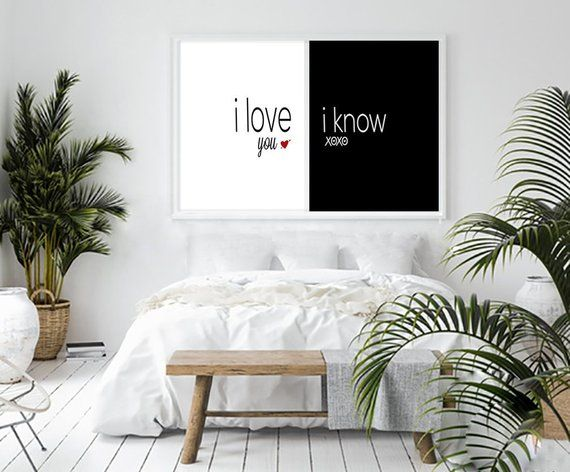 I love you I know Mr and Mrs sign Wedding gift for couple bedroom wall decor 50th birthday 30th birthday Gift for boyfriend Anniversary gift