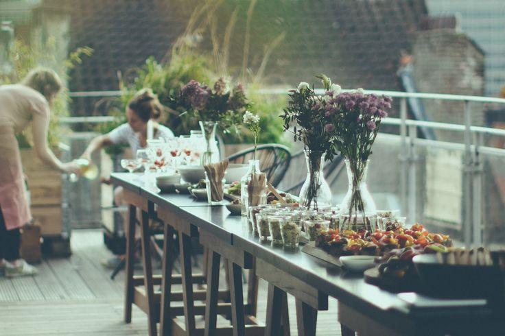 Apéro fleurs chez Henri & Agnes