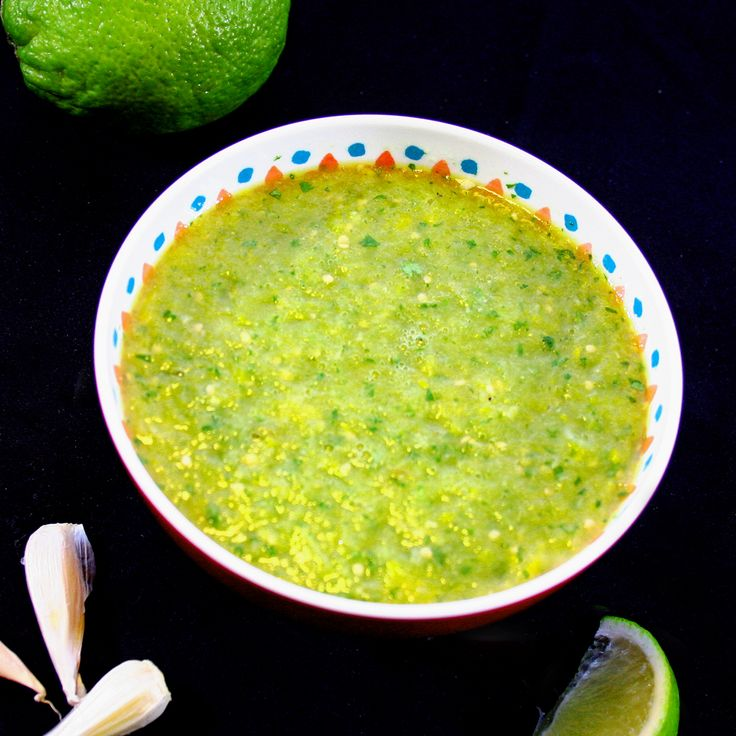 Authentic Salsa Verde via @DelectableCook