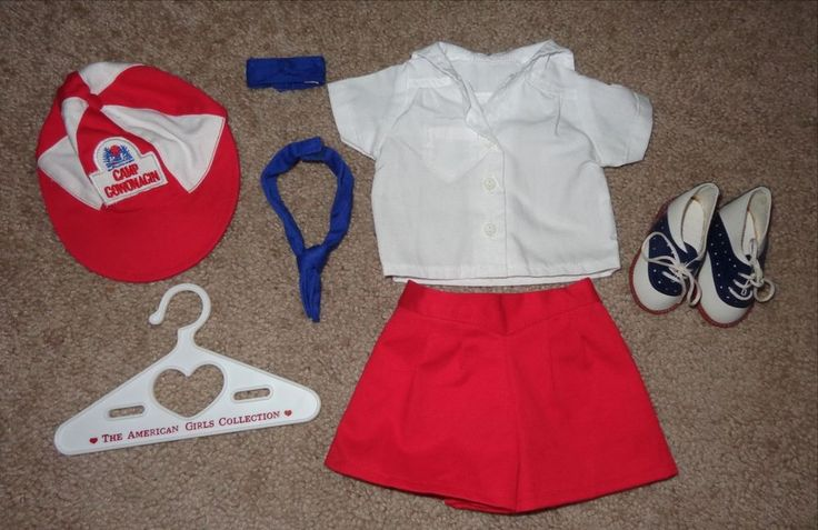 AMERICAN GIRL ~ MOLLY CAMP GOWONAGIN OUTFIT SADDLE SHOES 1995 PLEASANT COMPANY…