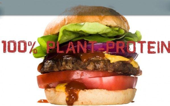 Sería posible conseguir una hamburguesa como la que ves en la imagen que sea más sabrosa y nutrit...