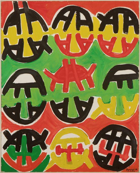 "Giuseppe Capogrossi ""Senza titolo"", 1966"