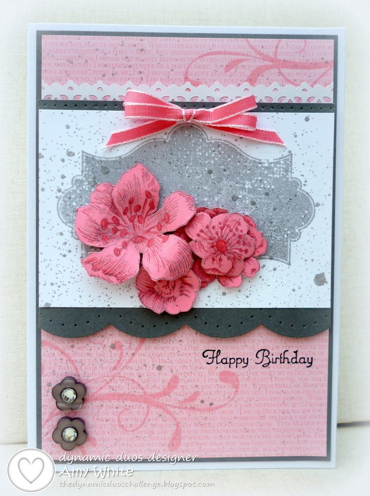 113 best Stampin UpEasel cards images – Birthday Card from White House