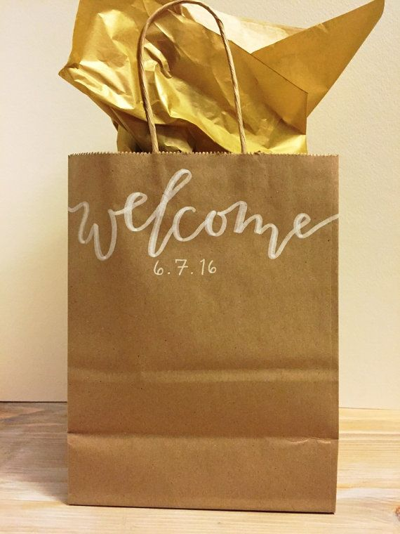 ... Bags on Pinterest Wedding welcome bags, Wedding gift bags and