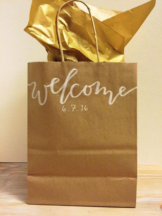 Wedding Weekend Gift Bag Ideas : ... Bags on Pinterest Wedding welcome bags, Wedding gift bags and