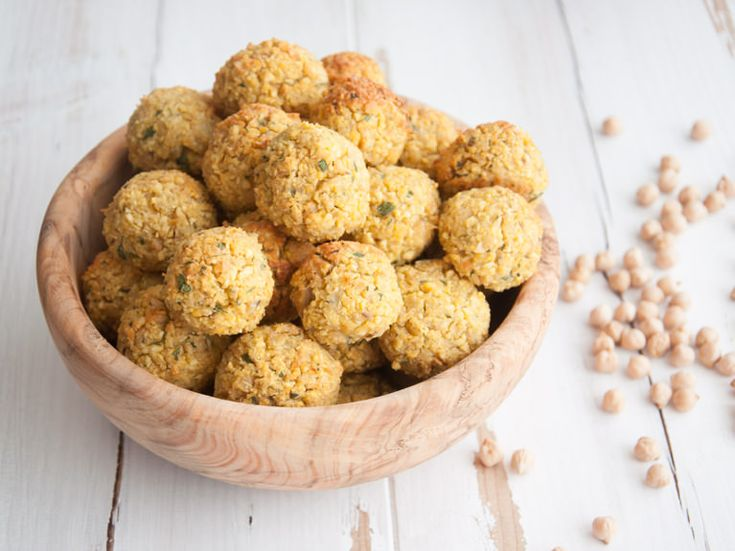 These vegan oil-free Oven Baked Falafel with Cilantro will knock your socks off! They are super easy to make, healthy and freeze well! So make a big batch!