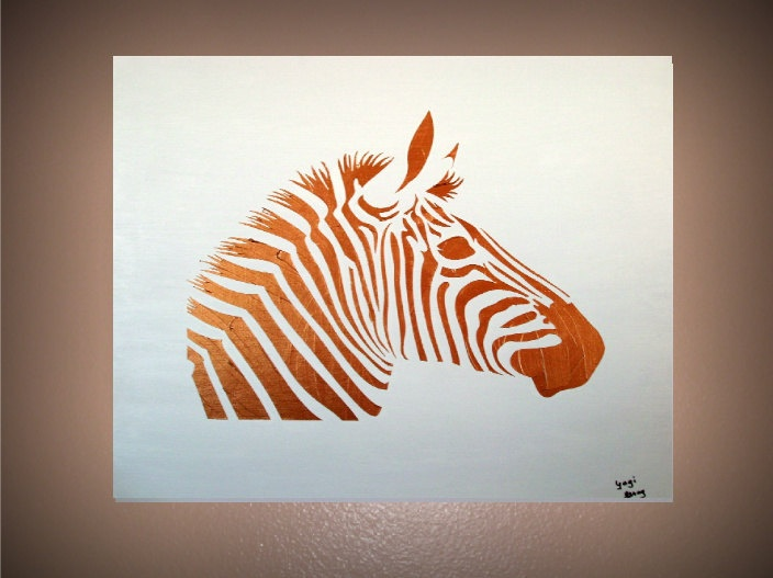 Cool simple xebra paintings google search painting for Cool paintings easy