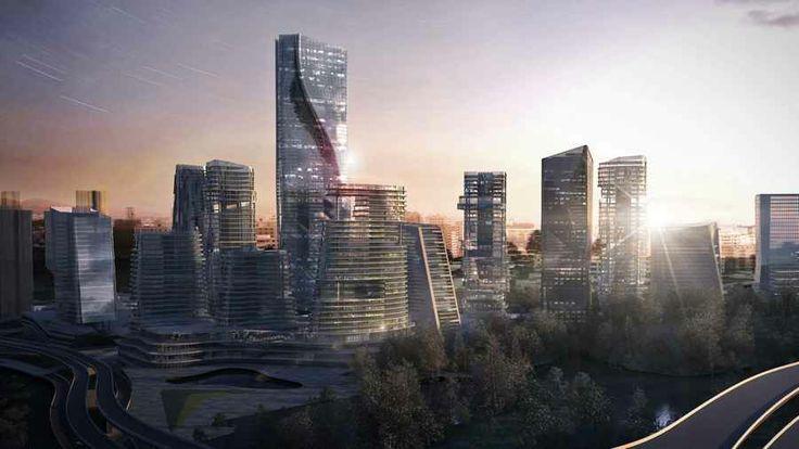 Cina: quartiere hi-tech