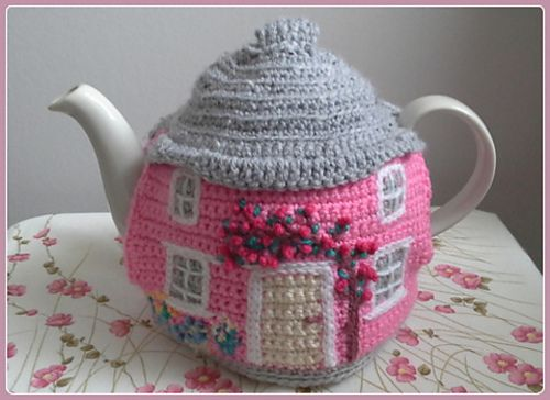 Ravelry: Crochet Cottage Tea Cosy pattern ♡ by linda Mary