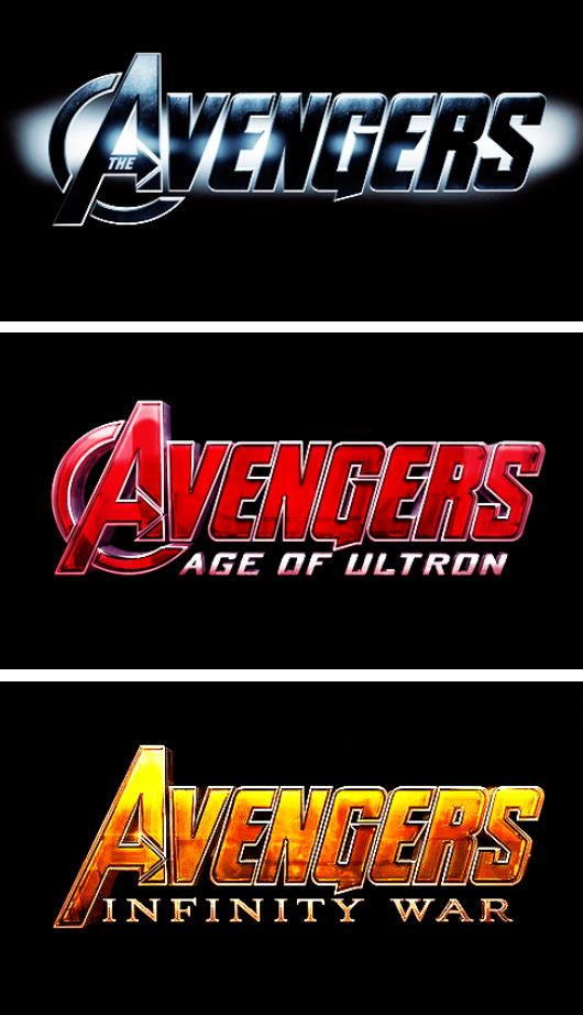 "THE AVENGERS four-part epic!!  (""Infinity War"" will be a two-parter!)"