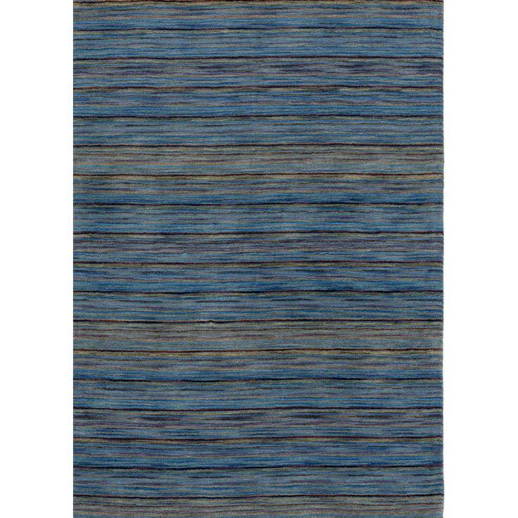 Ковер синие цвета Handloom 110 #carpet #carpets #rugs #rug #interior #designer #ковер #ковры #дизайн #marqis