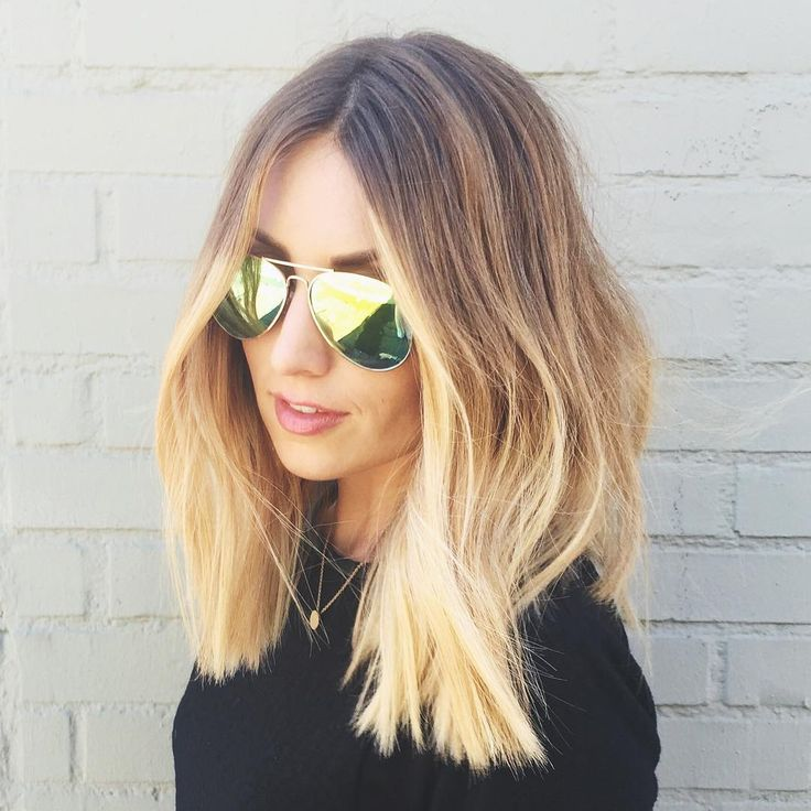 Pleasant 17 Best Ideas About Medium Length Ombre Hair On Pinterest Ombre Short Hairstyles Gunalazisus