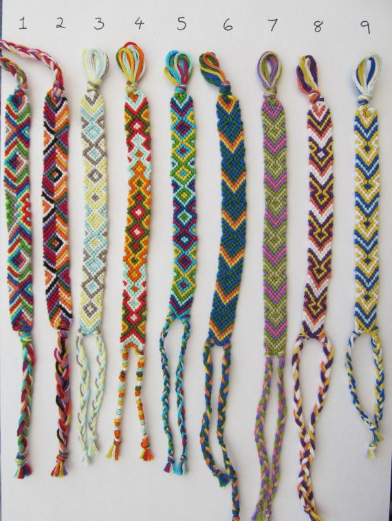 how to make anklets with thread