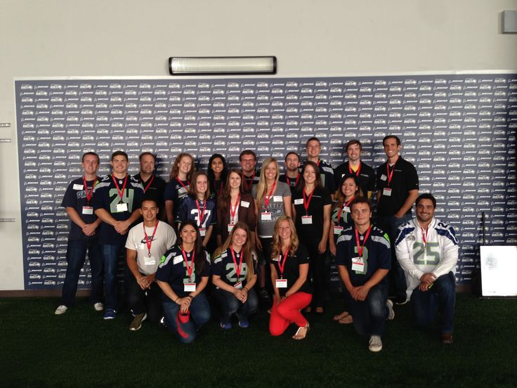 Our Everett And Seattle Offices Partnered Together To Host Some Students At The Seahawks Practice