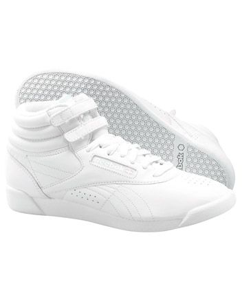 Reebok Freestyle Hi Youth Cheerleading Shoe