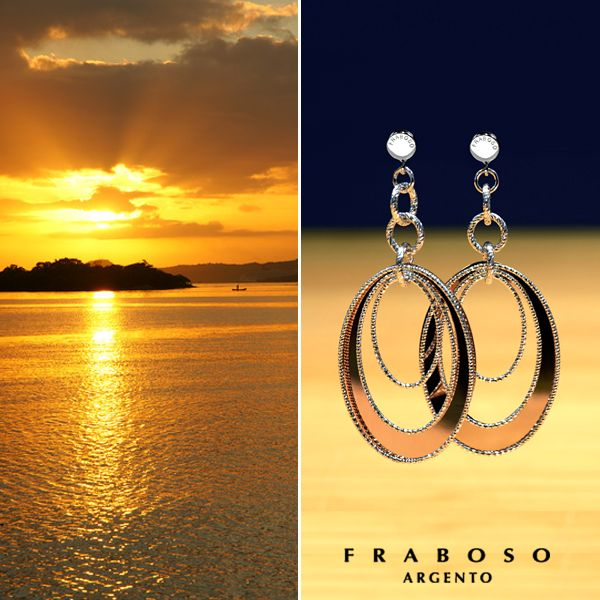 #Fraboso - #silver - #earrings - 2015 collection