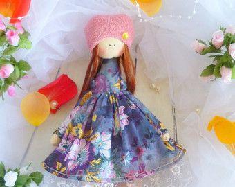 Handmade doll Tilda dolls Decorative Doll by ChernikovaNataliya