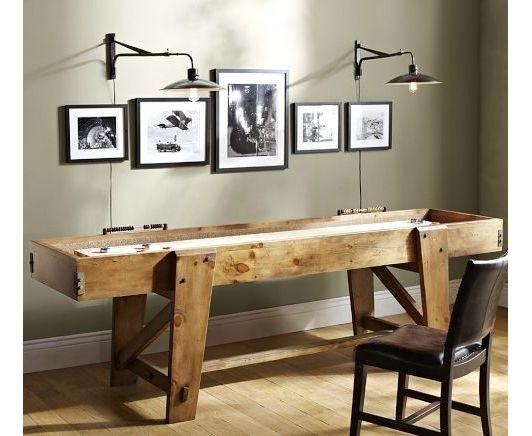 Pottery Barn Shuffleboard Table Home And Garden Design Ideas