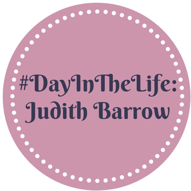 #DayInTheLife Judith Barrow