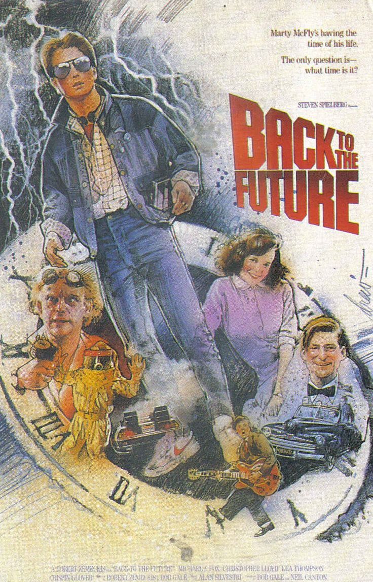 Back to the Future: Marty McFly's having the time of his life. The only question is-- which time is it?
