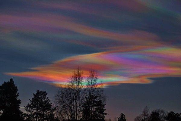 Rare Rainbow Clouds | Ireland