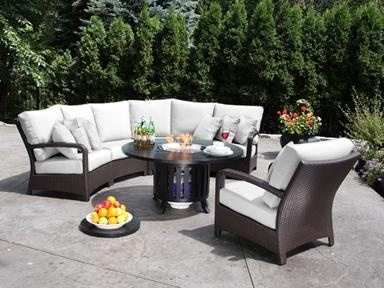 shop for cabanacoast solano wicker outdoor sectional and other sectionals at cabanacoast in mississauga inexpensive patio