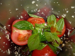 sixty second salad made with thermomix