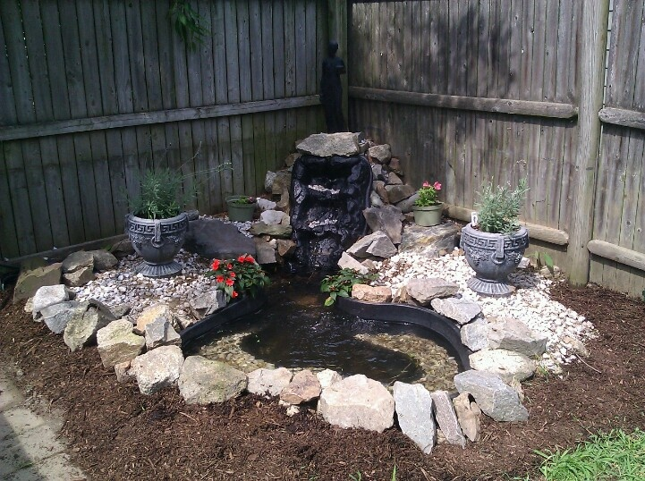 my backyard fountain