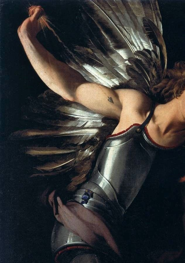 "meliae: "" Giovanni Baglione (detail, 17th Century) """