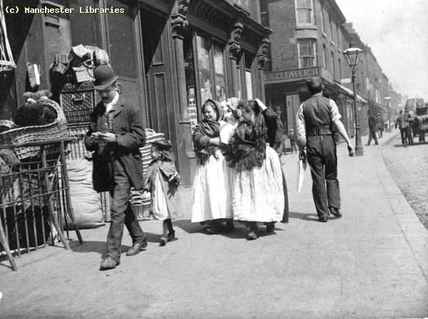 PAST LIVES: Rochdale Road, Manchester, 1900