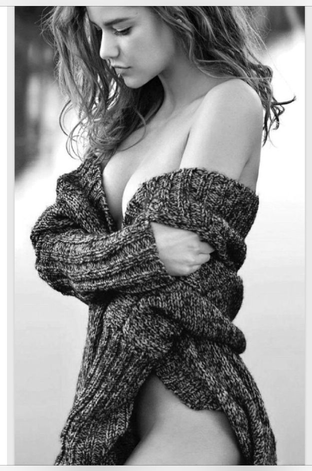 mm. perfection. beautiful. soft. black and white. b&w. woman. cozy. sweater. art. photography.