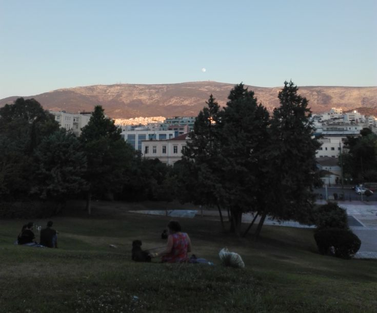 A park in Athens that we love!